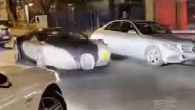 Bugatti convoy