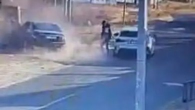Mercedes Benz driver attacked