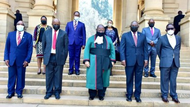 President Ramaphosa's new configured Cabinet ministers officially sworn in
