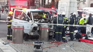 Reckless & negligent driving case opened after taxi crash near Parliament