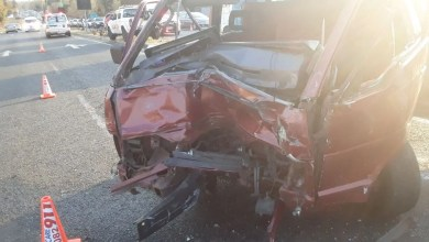 Five injured in Sandton collision