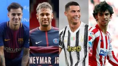 World record transfers