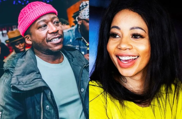 Kelly Khumalo and Thabo from Black Motion