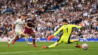 Leeds 1 - 2 West Ham