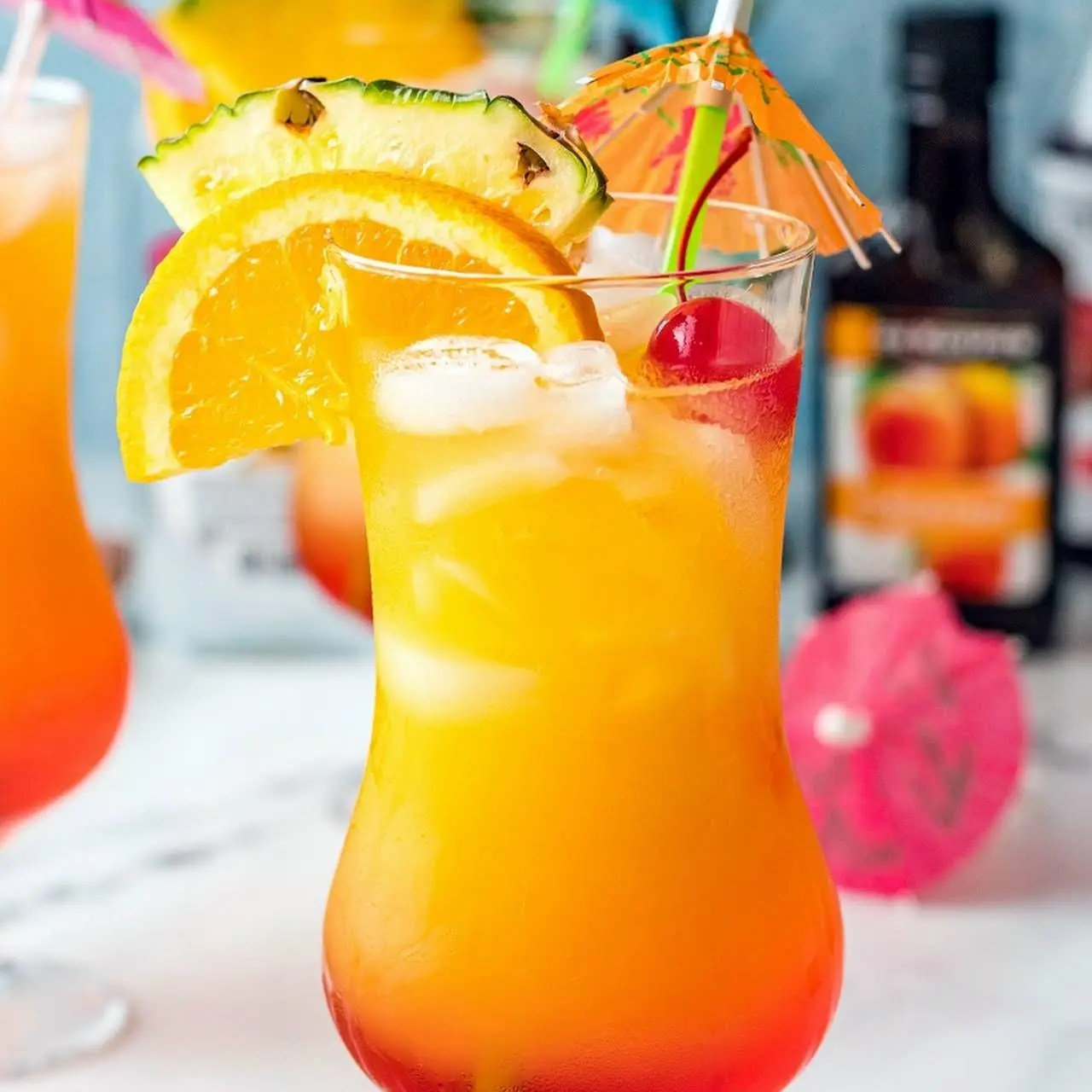 Sunset Cocktail Recipe