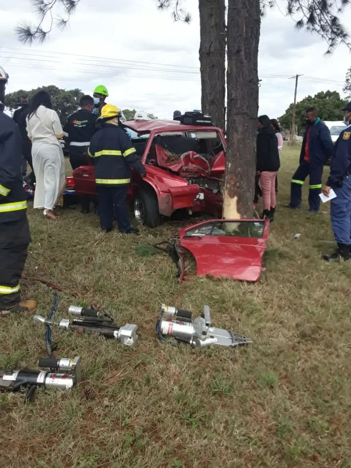 Driver seriously injured after slamming into tree