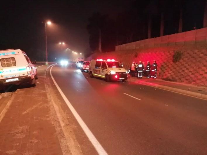 Four seriously injured in bakkie rollover