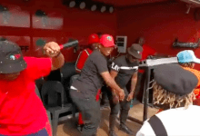 Crowd goes crazy as Julius Malema dances with Fifi Cooper & others