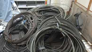 Suspect bust with copper cables worth R600 000