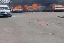 Taxis and cars set alight in Gqeberha