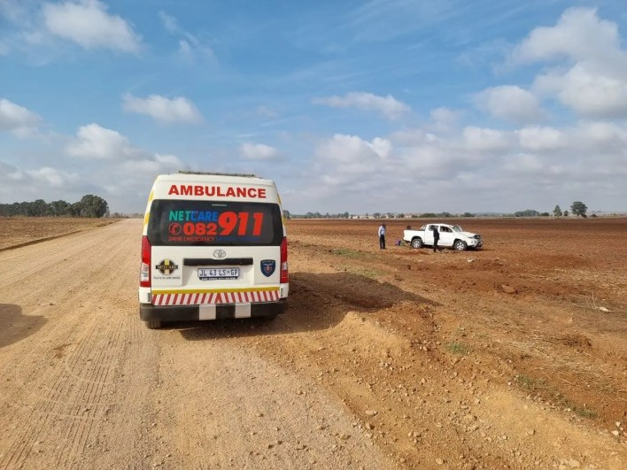 Two seriously injured after being ejected in Pretoria roll-over