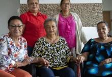 five biracial women