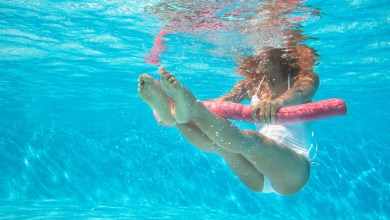 poolside -