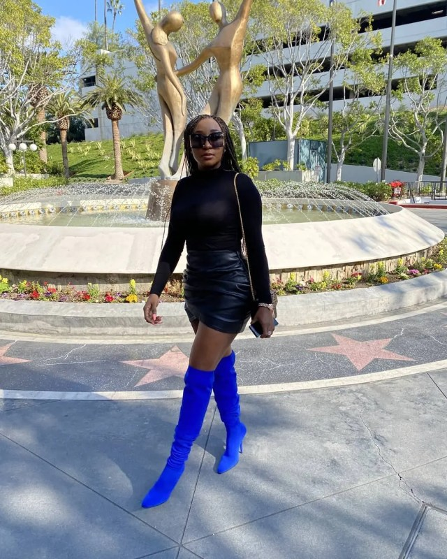 Ini Edo in Hollywood