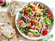 Tuna bean salad