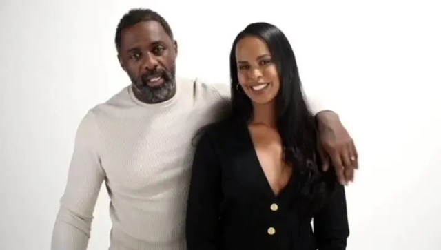 Idris Elba and wife