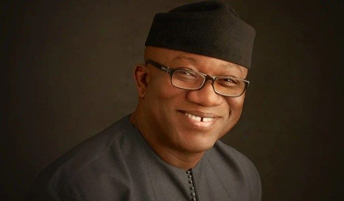 Ekiti State Governor: Fayemi extends lockdown by two weeks