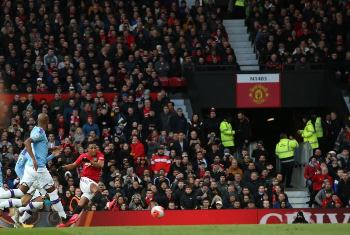 Manchester United 2 – 0 Manchester City