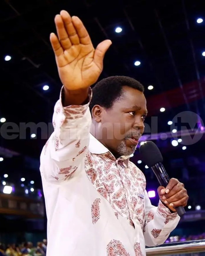 Latest on Prophet TB Joshua and his COVID-19 Prophecy