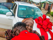 DJ Kaywise has gifted his mother with SUV worth N7M on her birthday