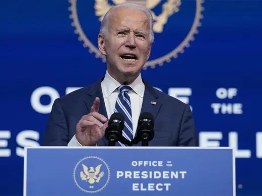 China congratulates Biden