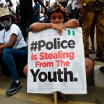 Buhari said he's not the type to unleash violence on protesters