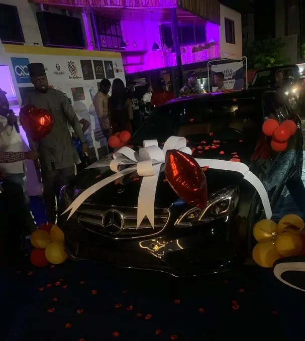 Laycon gets Mercedes Benz car gift worth N12M for birthday