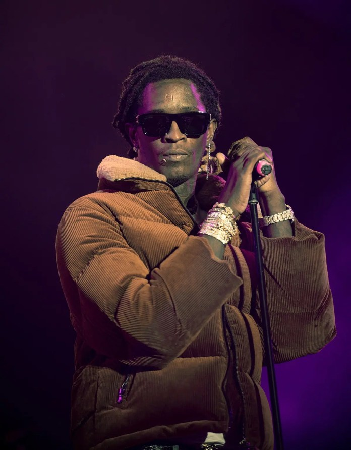 Young Thug encourages US fans to vote