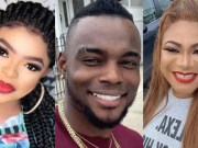 Bobrisky beef with Blessing