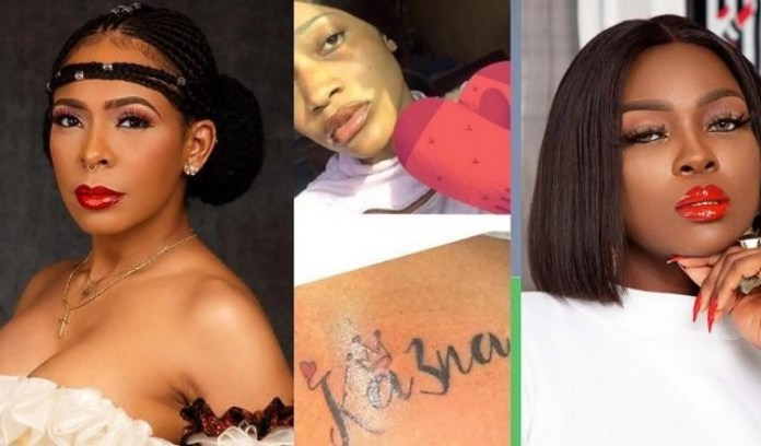 Tattoo drama TBoss slam Ka3na: Know the difference between a Boss lady and a buslady
