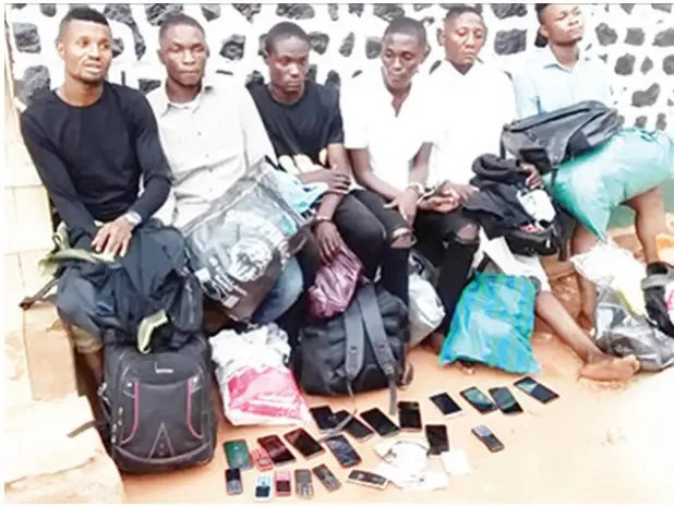 6 bank hackers arrested over the N5m Edo theft