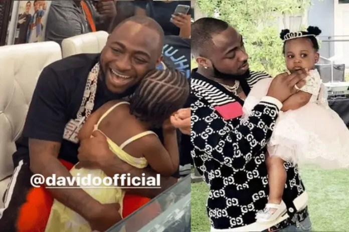 Cute Moments – Davido shares hilarious conversation he had with his young daughter