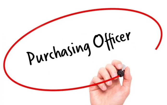 Programme purchase to pay officer Wanted – Apply Here