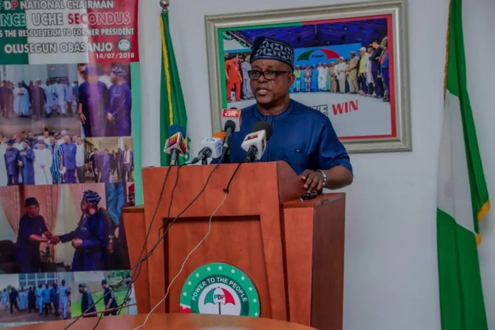 High Court bars Uche Secondus from parading himself as PDP chairman