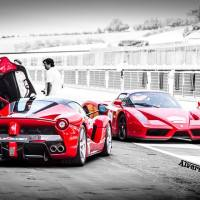 LaFerrari meets the Enzo