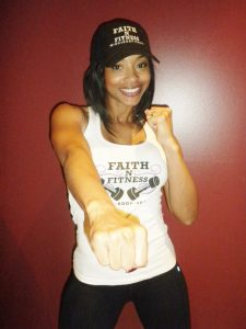 Kimberli Russell uses her Faith N Fitness, Mind, Body, and Soul business to encourage women./Kimberli Russell