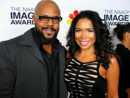 Actor Rockmond Dunbar, shown here with actress Maya Gilbert, is up for several NAACP Image Awards. Photo Credit: Dennis J. Freeman