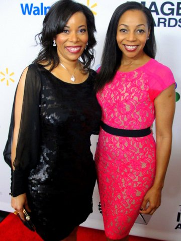 "Author Sonia Jackson Myles, up for a NAACP Image Award for her book,""The Sister Accord: 51 Ways to Love Your Sister,"" has the support of En Vougue singer Terry Ellis. Photo Credit: Dennis J. Freeman"