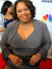 Chandra Wilson (Grey's Anatomy) makes the red carpet. Photo Credit: Dennis J. Freeman