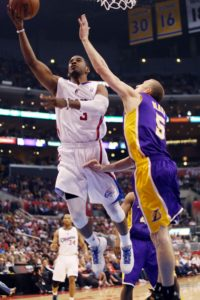 Leading the way: Chris Paul was instrumental in leading  the Los Angeles Clippers to its first Pacific Division title. Photo Credit: Burt Harris/Prensa Internacional