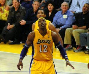 The Lakers are hoping center Dwight Howard stays with the team.