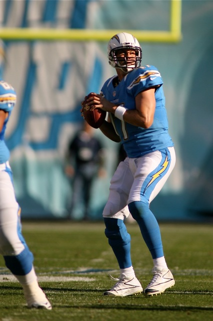 Quarterback Philip Rivers will have to lead the way this season. Photo Credit: Jon Gaede/News4usonline.com