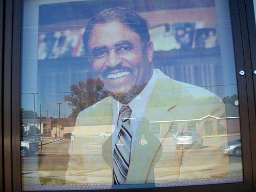 Coach Eddie Robinson, the all-time leader in wins in Division I college football, led Grambling State University to prominence.    hoto credit: Clotee Pridgen Allochuku via photopin cc