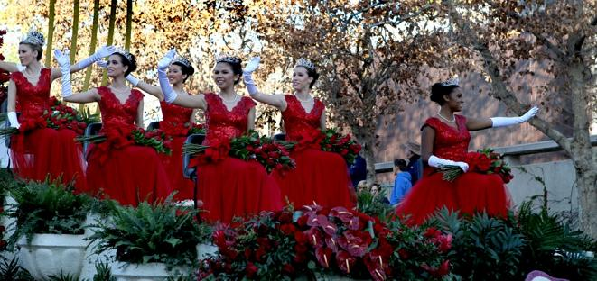 The 2014 Tournament of Roses Queen Court. Photo Credit: Erlinda Olvera