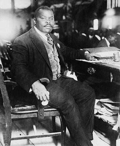Marcus Garvey in his heyday.
