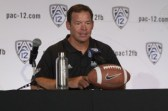 Ucla Bruins Head Coach Jim Mora on the main stage. Photo by Jevone Moore / News4usonline.com
