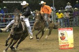 The Black Cowboy in action at the Bill Pickett Rodeo.