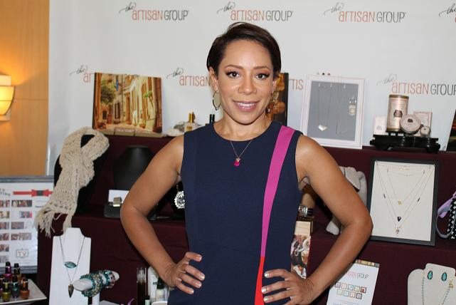 Actress Selenis Leyva (Orange is the New Black)   was enamored with The Artisan Group at the 2014 GBK Pre-Emmys Gift Lounge. Photo Credit: Dennis J. Freeman/News4usonline.com