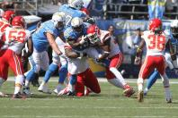 The Chargers need to have their running game in high gear against the Denver Broncos, which they were not able to do against the Kansas City Chiefs the first time the two teams met during the 2014 NFL season. A more balanced running back will help the Chargers in their quest to win the AFC West title. Photo Credit: Kevin Reece/News4usonline.com