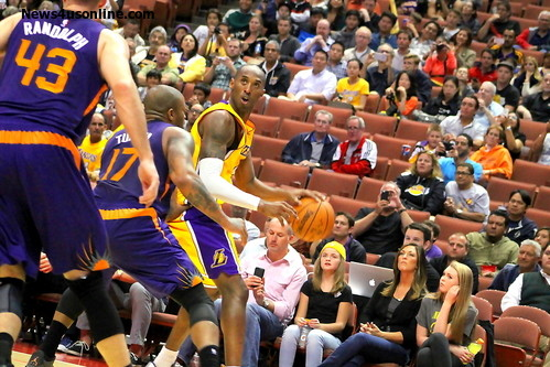 Kobe Bryant is expected to pass Michael Jordan at third place on the NBA's all-time scoring list this season. Photo Credit: Dennis J. Freeman/News4usonline.com